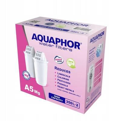 Aquaphor A5 Mg2+ 2 wkłady do dzbanków Aquaphor