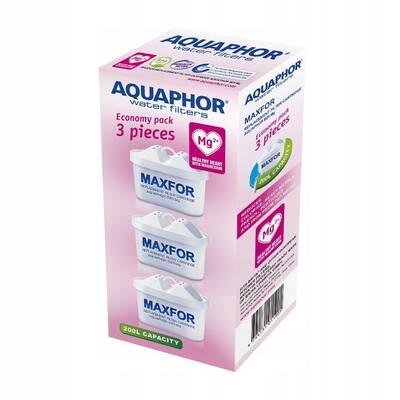 Aquaphor B25 Mg2+ Maxfor 3 wkłady do dzbanków Aquaphor, Brita, Dafi, BWT