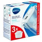 Brita Marella + 3 wkłady (biały) dzbanek filtrujący
