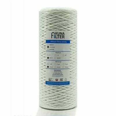 """Filtr wstępny Kuna Filter BB-10"""" 20 µm"""