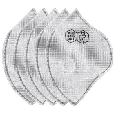 Filtry do maski antysmogowej DRAGON N99 SPORT II AC 5 sztuk