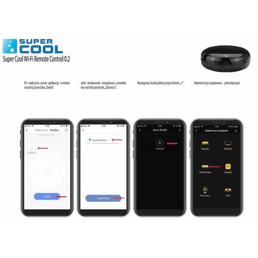 Moduł WiFi (Wi-Fi Remote Control) do klimatyzatorów przenośnych Fral