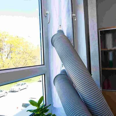Uszczelka okienna dwururowa do klimatyzatora