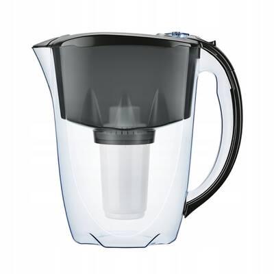 dzbanek filtrujący Aquaphor Prestige + 4 wkłady (czarny)