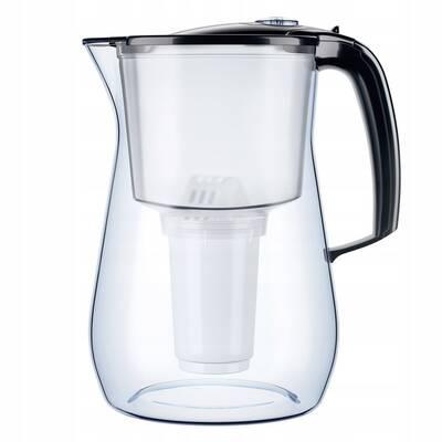 dzbanek filtrujący Aquaphor Provence + 6 wkładów (czarny)