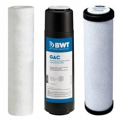 zestaw trzech filtrów BWT Pure Aquacalcium