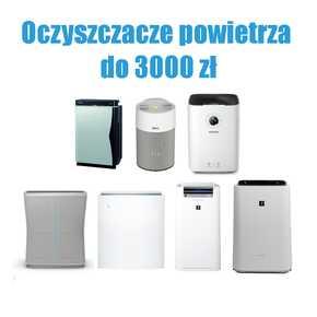 Oczyszczacze powietrza do 3000 zł