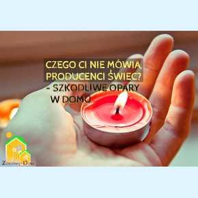 Świece parafinowe – Czego Ci nie mówią producenci świec, co szkodzi zdrowiu?