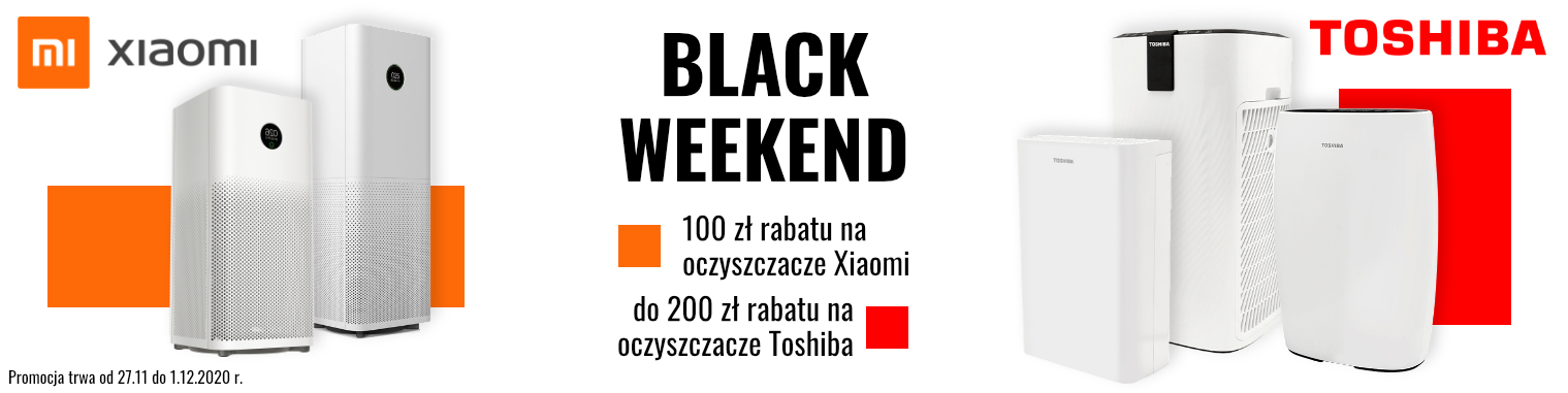 Black Weekend Toshiba i Xiaomi