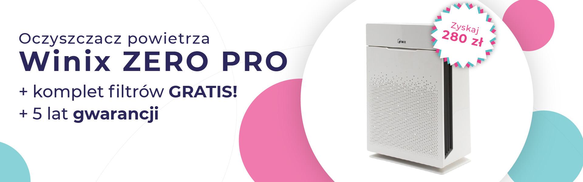 Oczyszczacz powietrza Winix Zero zestaw filtrów gratis