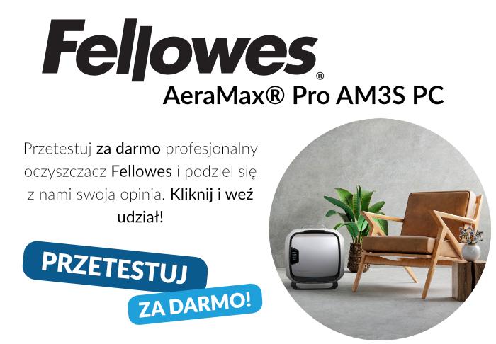 Przetestuj za darmo Fellowes AeraMax Pro AM3S PC