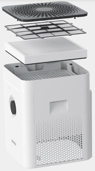 Oczyszczacz powietrza z nawilżaczem Boneco H400
