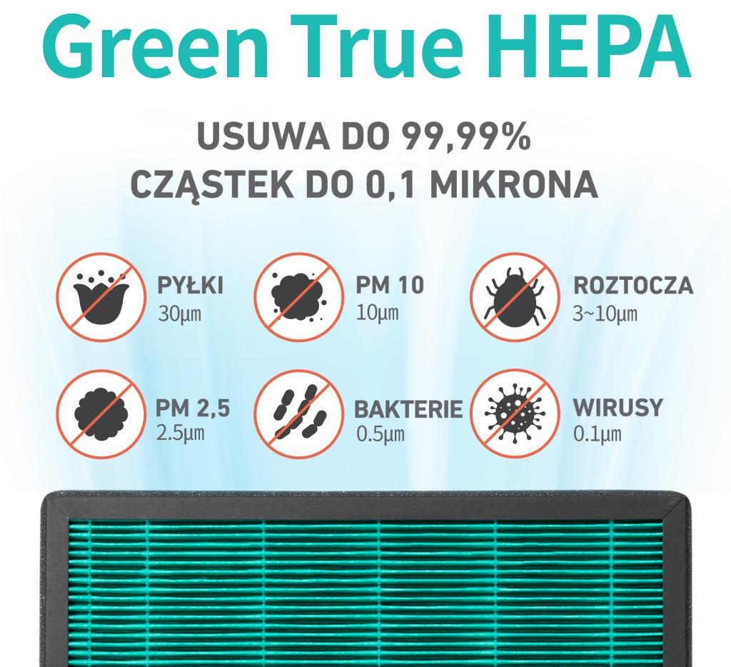 Coway Cartridge filtr HEPA H13