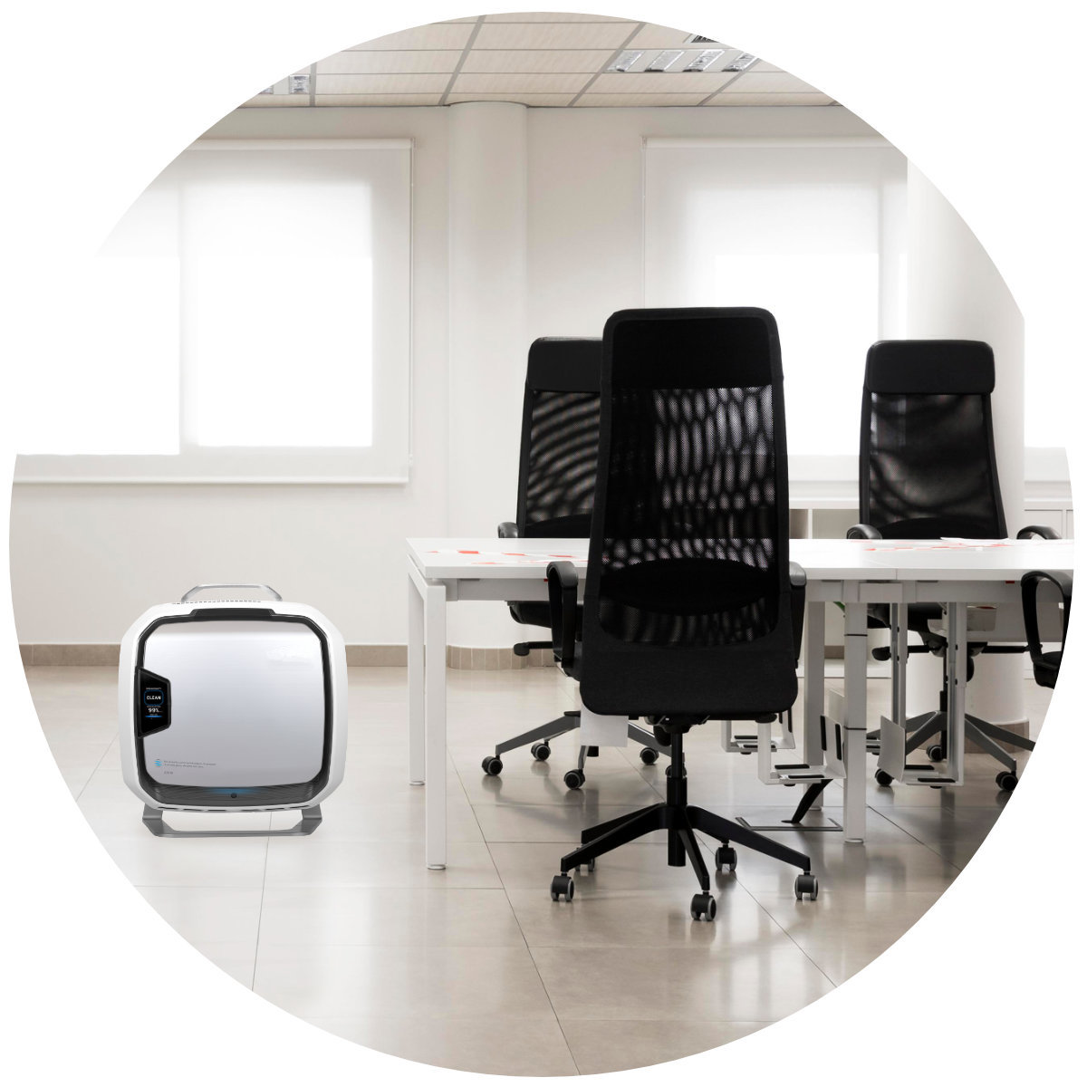 Fellowes AeraMax Pro AM3S PC w biurze