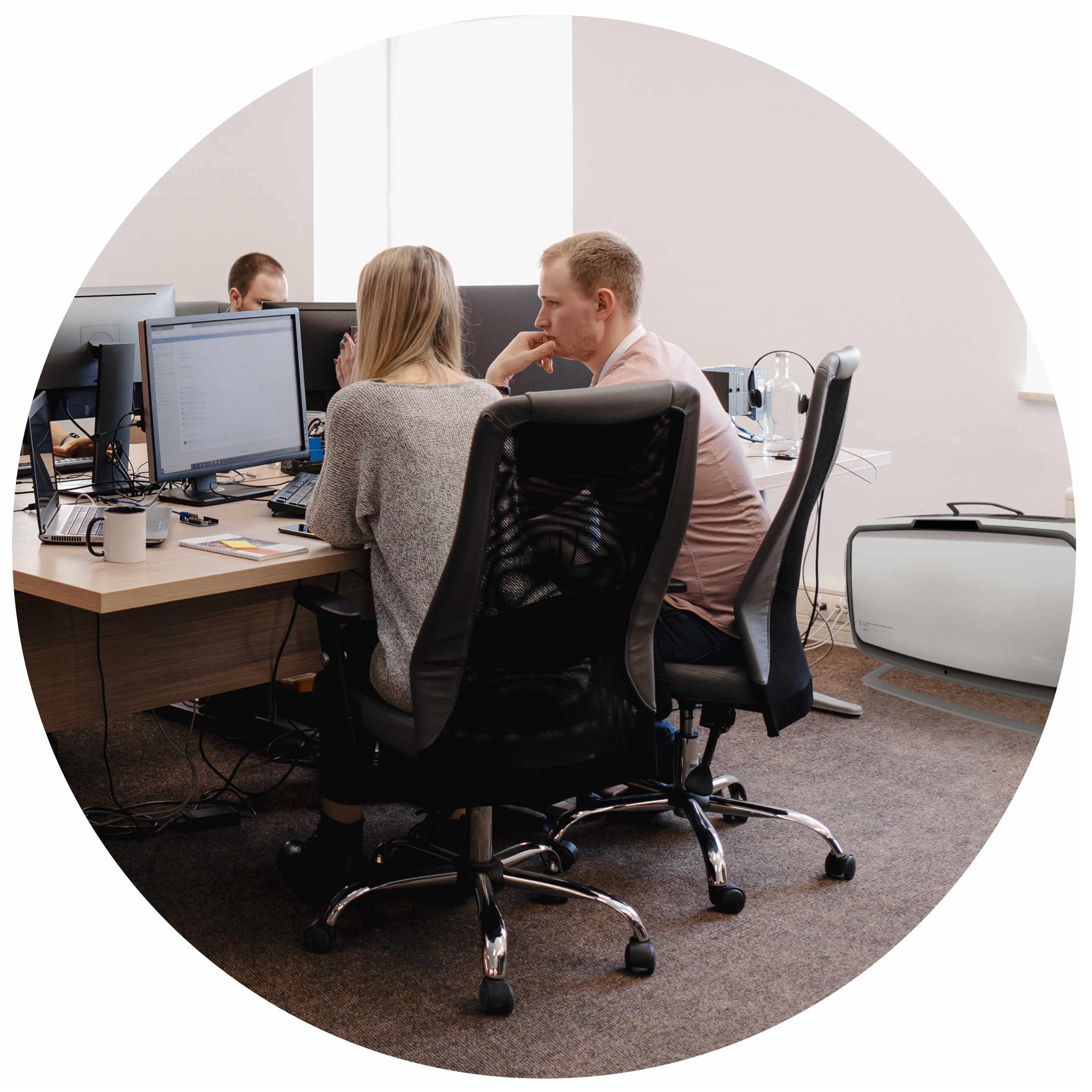 Fellowes AeraMax Pro AM4S w biurze