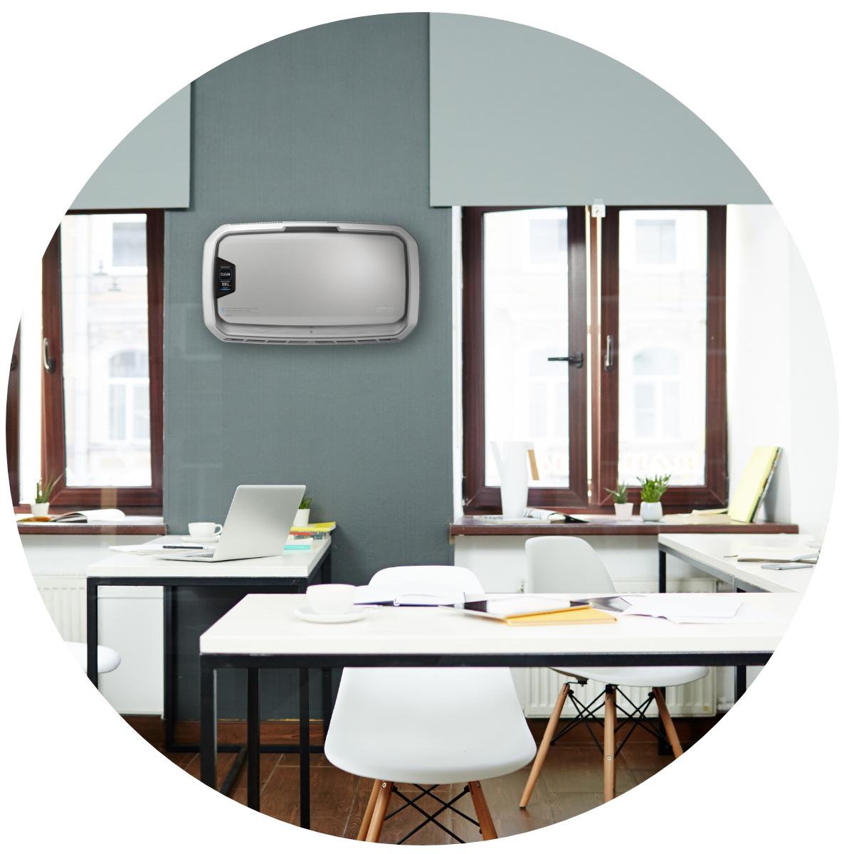 Fellowes AeraMax Pro AM4 PC w biurze