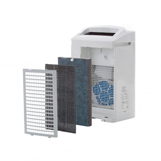 Sharp KC-A50EUW oczyszczacz i nawilżacz - filtracja powietrza
