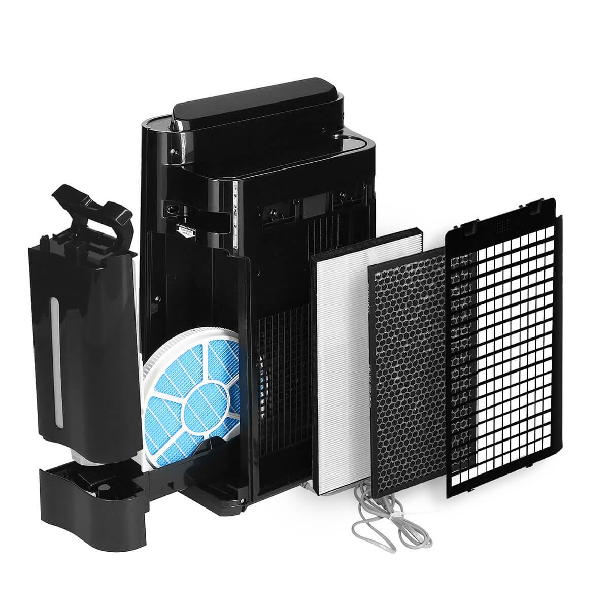 Sharp KC-D40EUB oczyszczacz i nawilżacz - filtracja powietrza