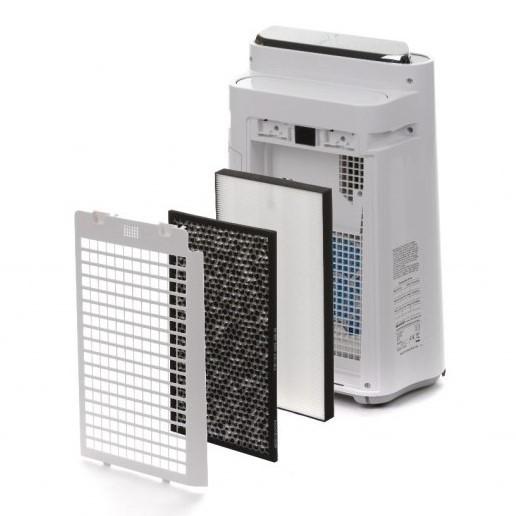 Sharp KC-D50EUW oczyszczacz i nawilżacz - filtracja pwoietrza