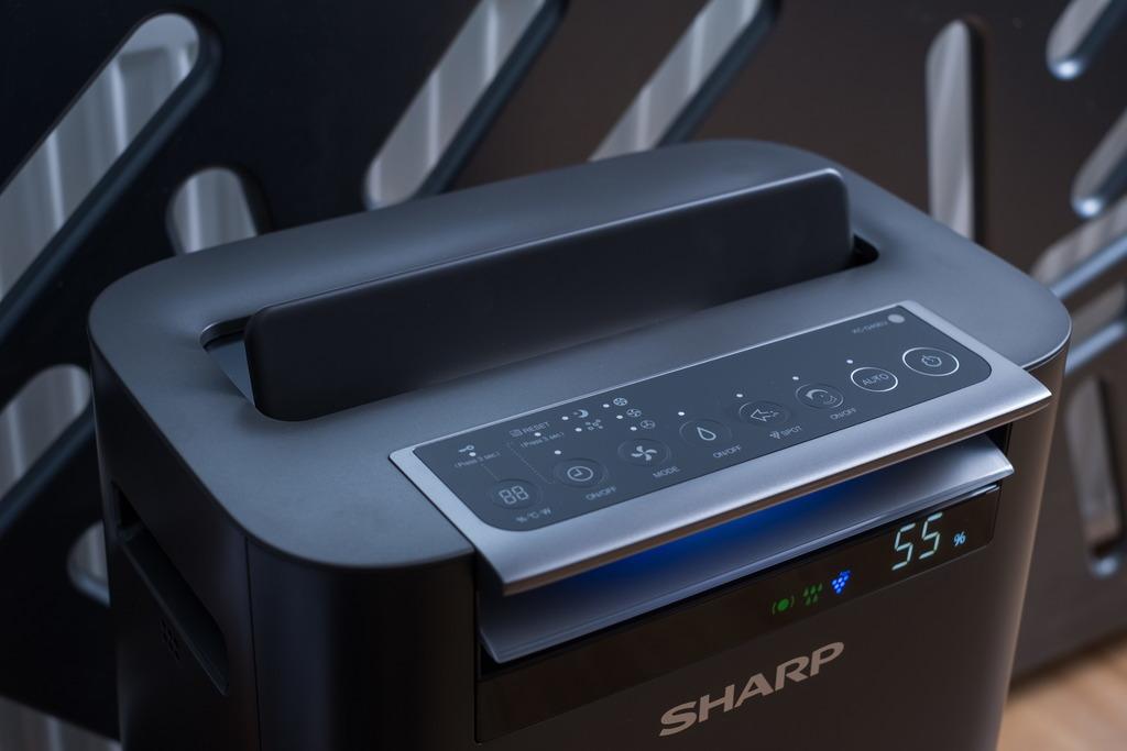 Sharp KC-G40EUH oczyszczacz i nawilżacza - panel sterowania