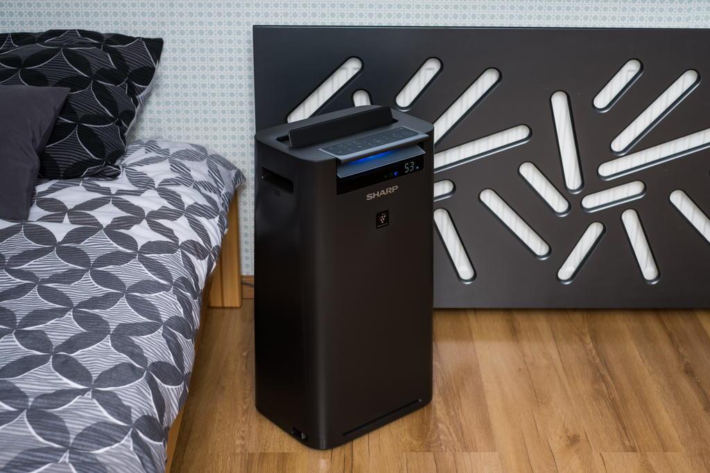 Sharp KC-G40EUH oczyszczacz i nawilżacz - sypialnia