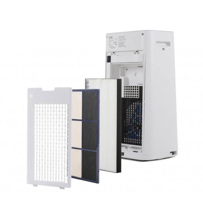 Sharp KC-G40EUW oczyszczacz i nawilżacz - filtracja powietrza