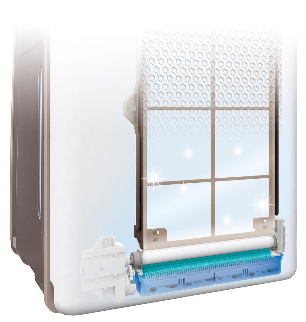 Filtr wstępny w oczyszczaczu powietrza Sharp KI-G75EUW