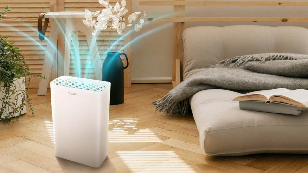 Oczyszczacz Toshiba CAF-X33XPL do sypialni