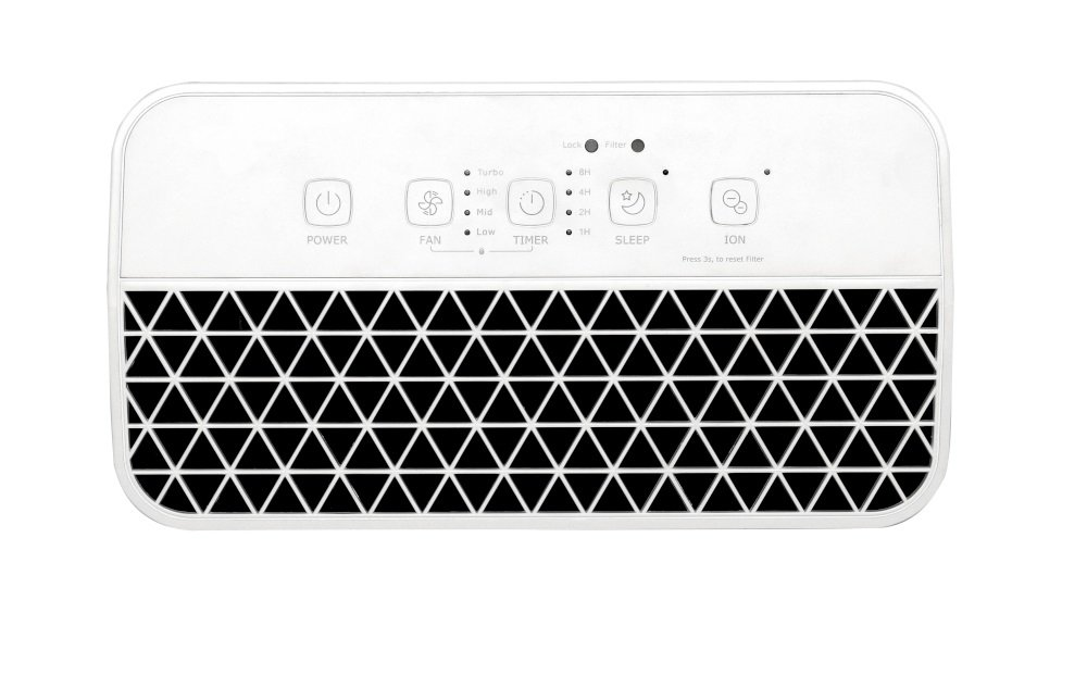 Oczyszczacz Toshiba CAF-X33XPL panel sterowania
