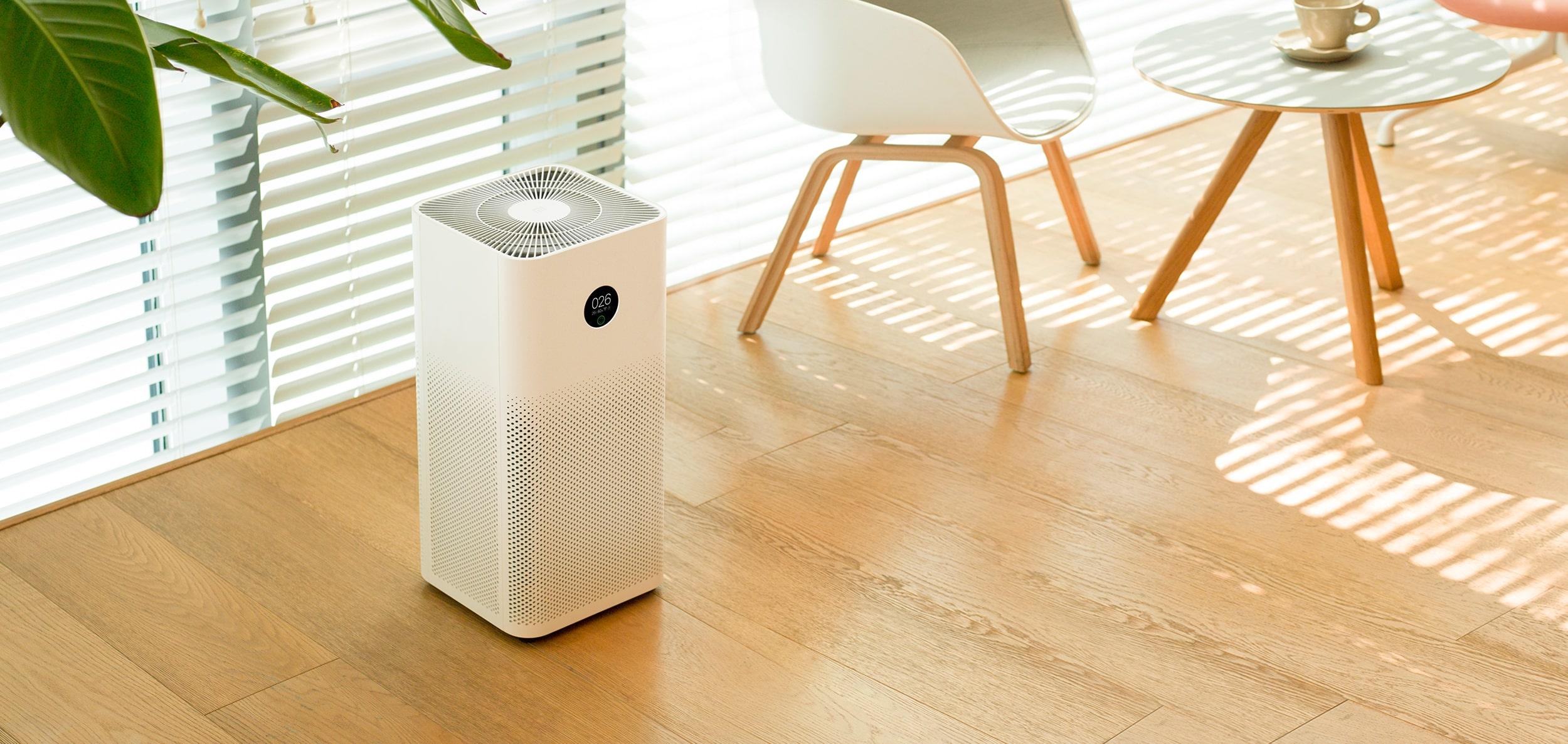 Oczyszczacze powietrza Xiaomi - design