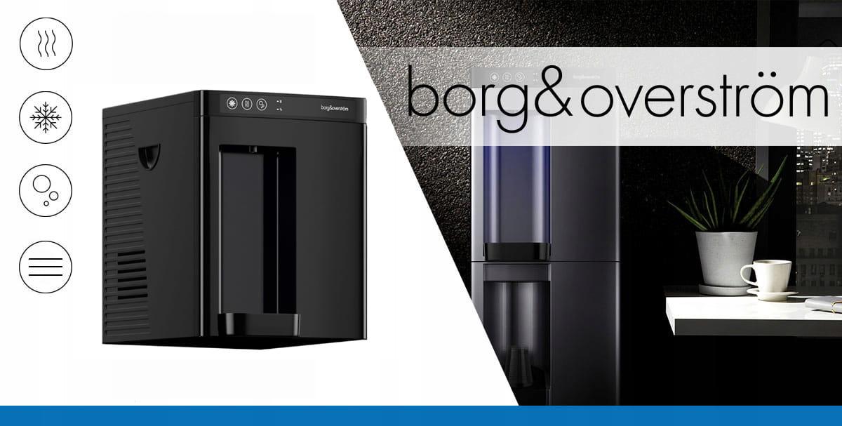Dystrybutor do wody BorgOverstrom B4 - woda dla firmy