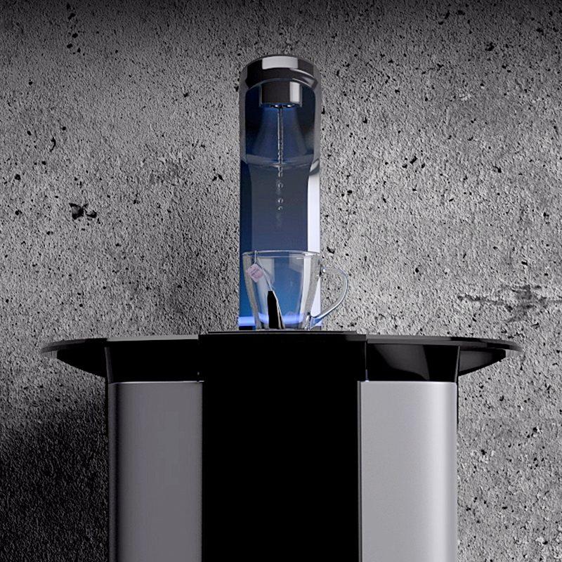 Dystrybutor do wody BorgOverstrom B5 - ergonomiczny kran