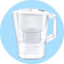 Brita Aluna (biały) dzbanek filtrujący - optymalna ilość wody