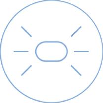 Brita Aluna XL (biały) dzbanek filtrujący - elektryczny wskaźnik