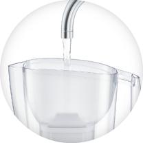 Brita Aluna XL (biały) dzbanek filtrujący - napełnianie