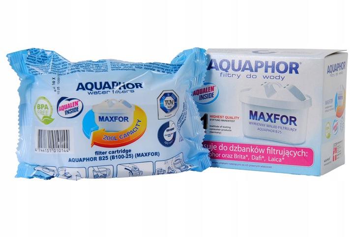 Aquaphor Amethyst (wiśniowy) filtr