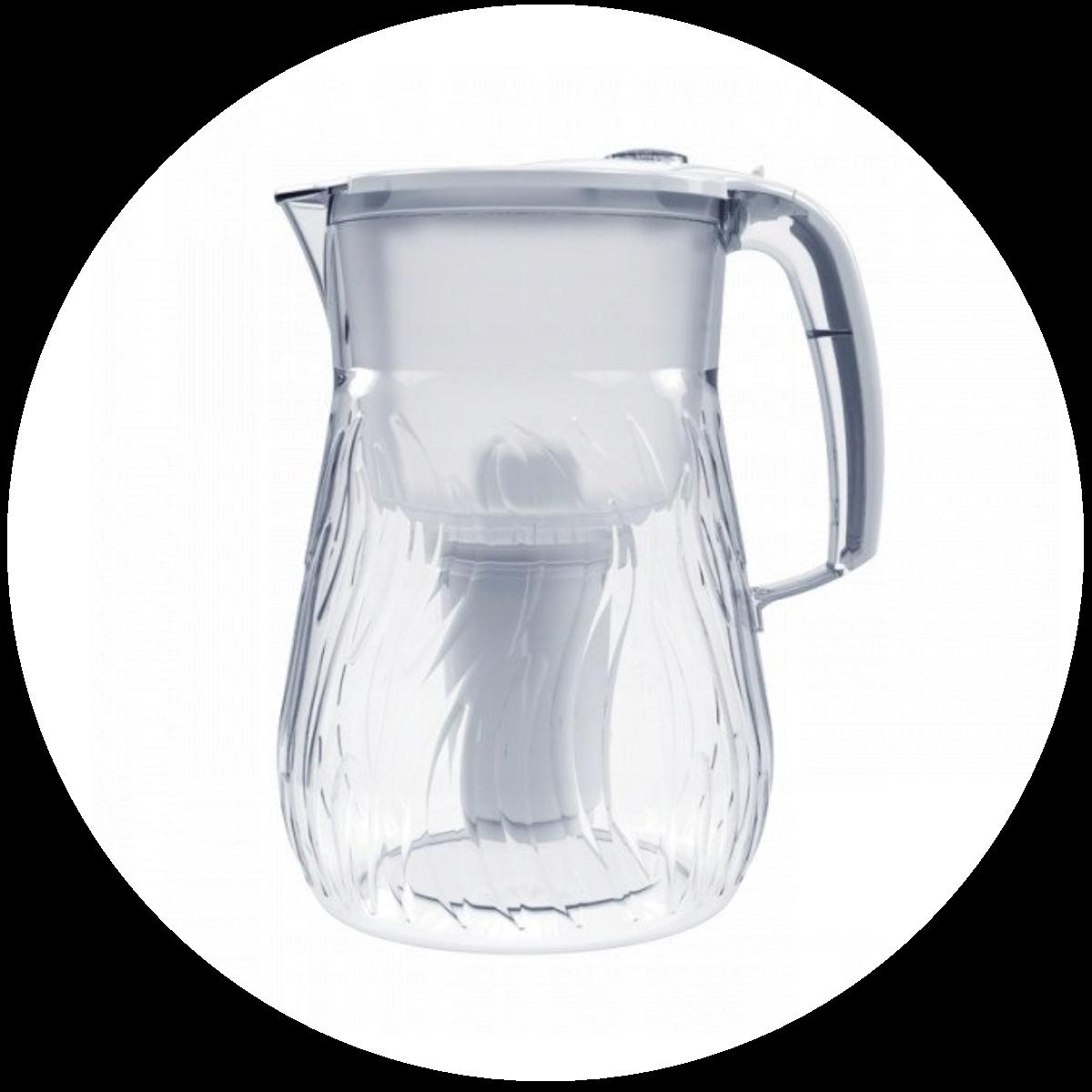 Aquaphor Orleans (biały) dzbanek filtrujący - konstrukcja