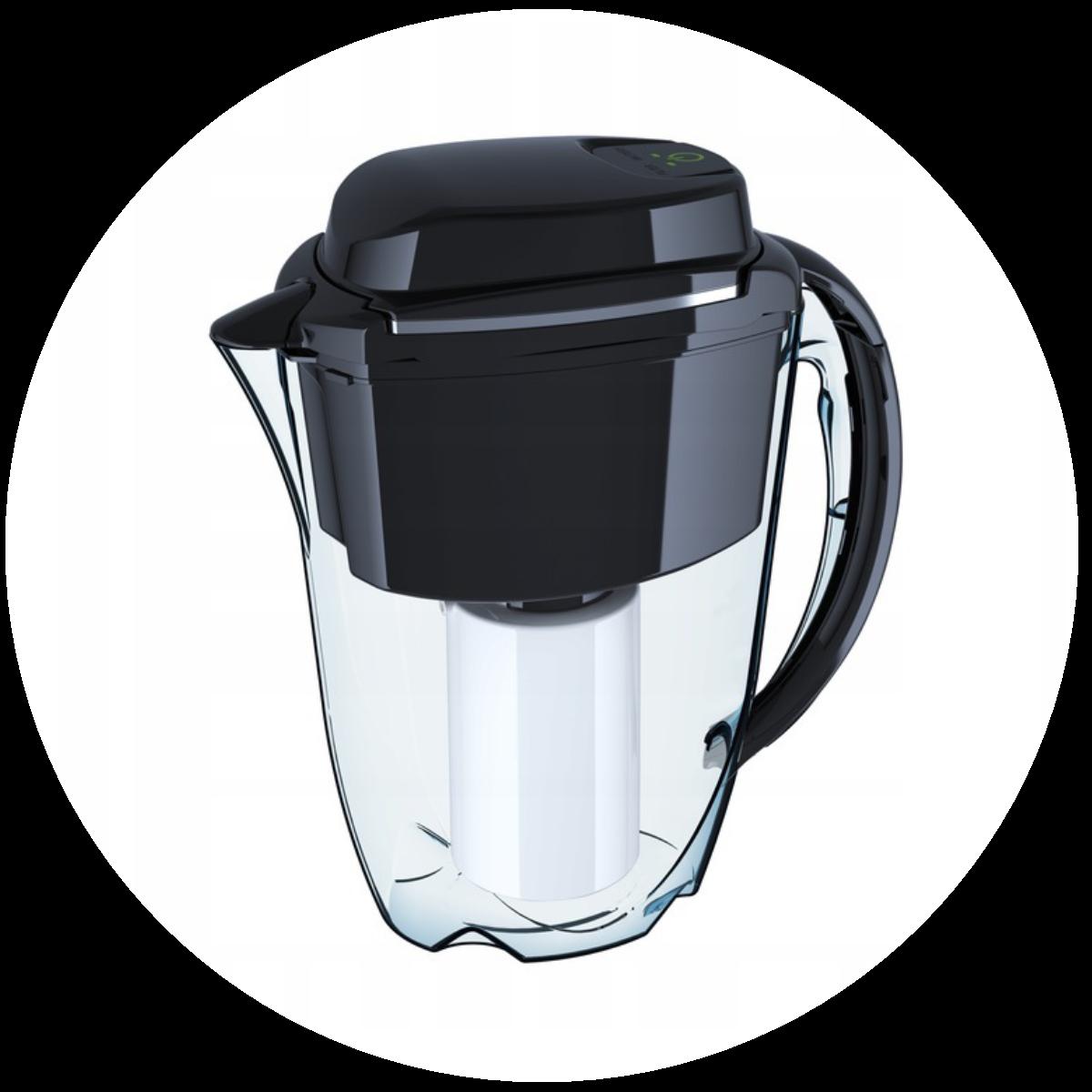 Aquaphor J.Shmidt 500 (czarny) dzbanek filtrujący - zmywarka