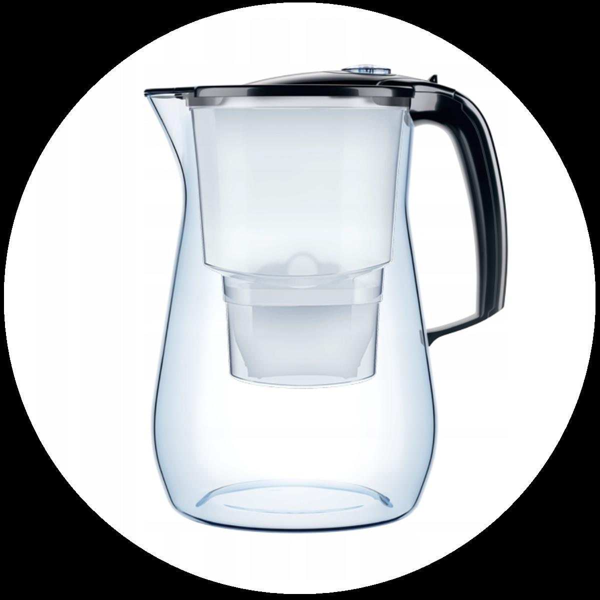Aquaphor Onyx (czarny) dzbanek filtrujący - zmywarka