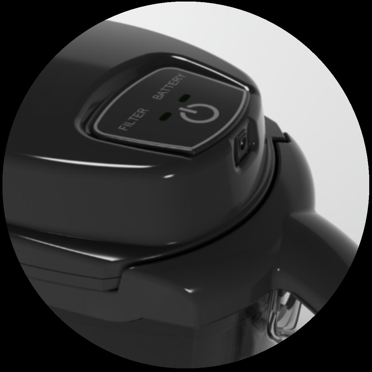 Aquaphor J.Shmidt 500 (czarny) dzbanek filtrujący - ładowanie