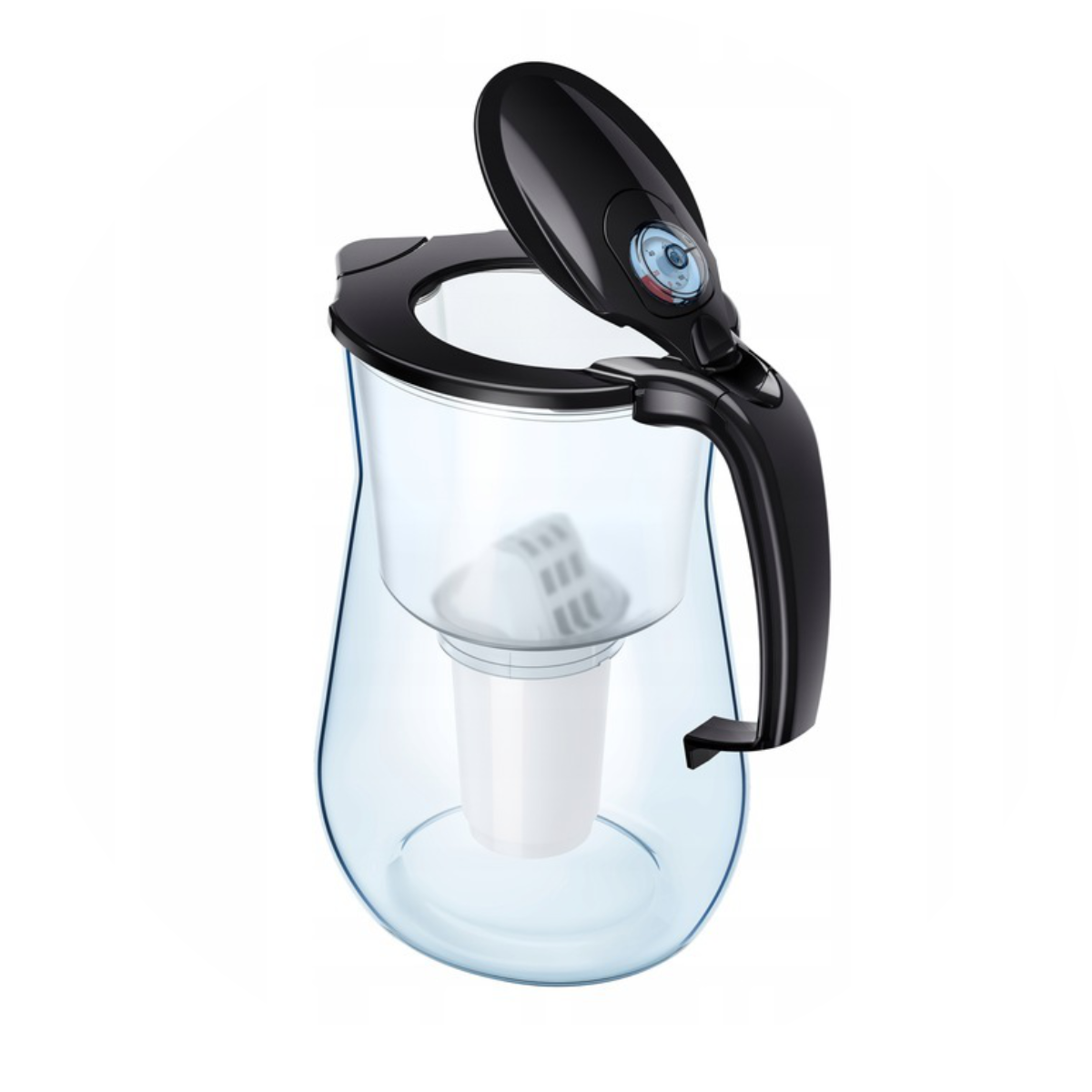 Aquaphor Provence (czarny) dzbanek filtrujący - pokrywka