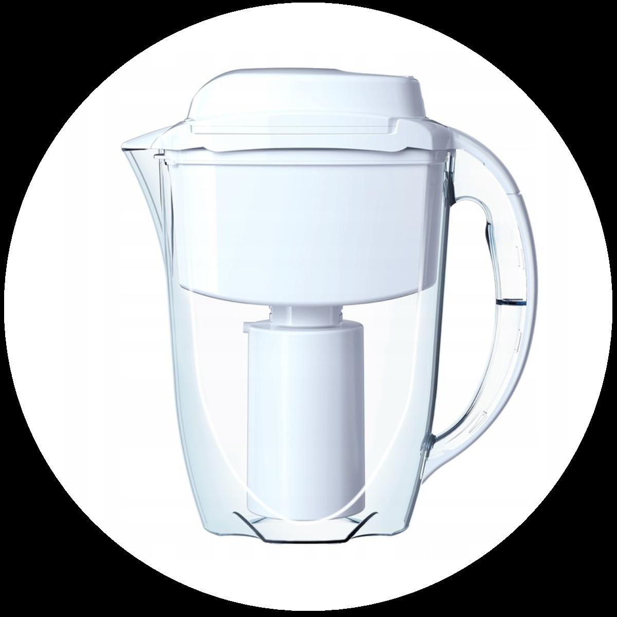 Aquaphor J.Shmidt 500 (biały) dzbanek filtrujący - wygląd