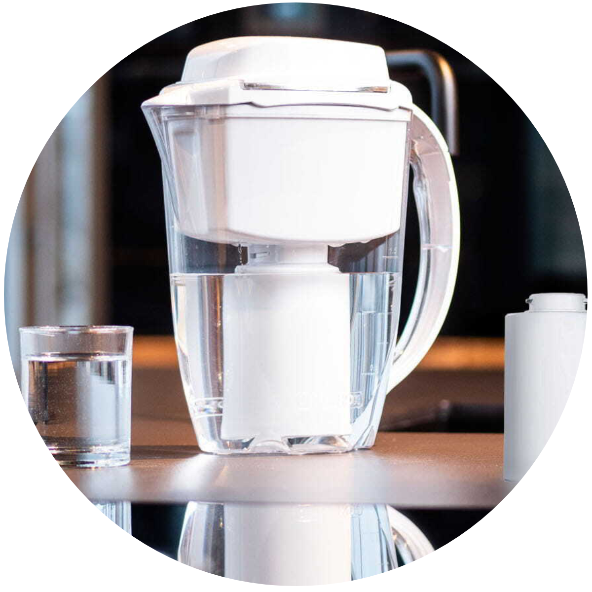 Aquaphor J.Shmidt 500 (biały) dzbanek filtrujący - panel