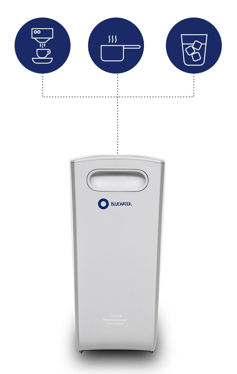Filtr do wody Bluewater Cleone Purity Plus - obsługa