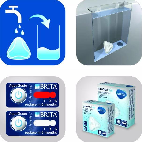 Filtr wymienny AquaGusto 100 CU BRITA