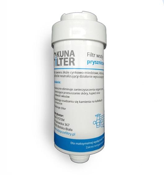 Filtr wymienny prysznicowy Kuna Filter