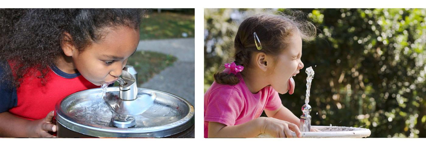 Fontanny i poidełka wody pitnej