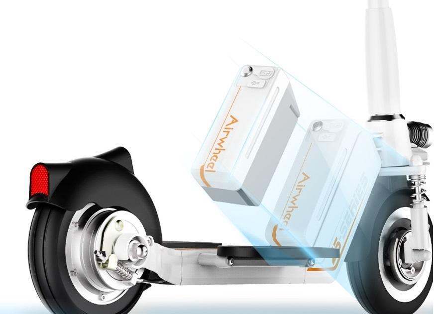 Hulajnogi elektryczne Airwheel - wymienny akumulator