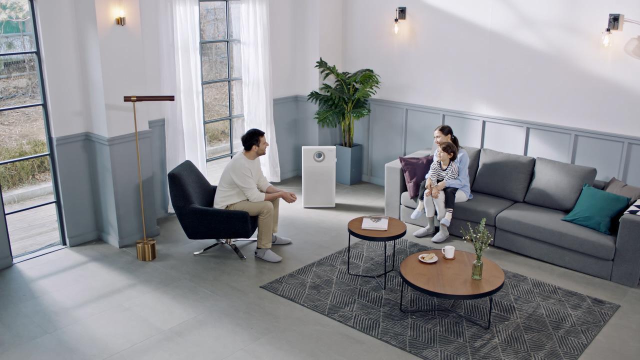 Oczyszczacz powietrza do salonu - Coway Mini Storm