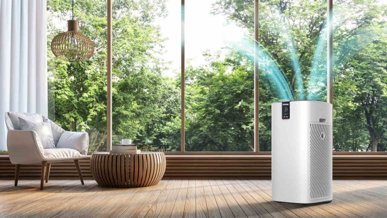 Oczyszczacz powietrza do salonu - Toshiba CAF-X116XPL